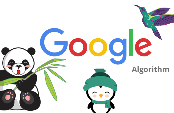 this image shows the different type of Google algorithm